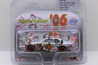 2006 Sam Bass Holiday 1:64 Nascar Diecast Sam Bass nascar diecast, diecast collectibles, nascar collectibles, nascar apparel, diecast cars, die-cast, racing collectibles, nascar die cast, lionel nascar, lionel diecast, action diecast, university of racing diecast, nhra diecast, nhra die cast, racing collectibles, historical diecast, nascar hat, nascar jacket, nascar shirt