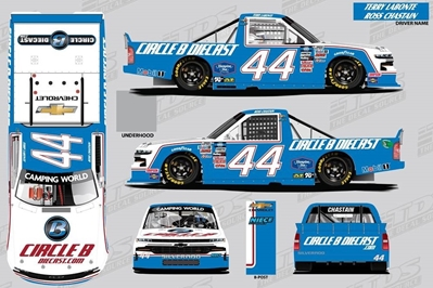 *Preorder* Ross Chastain 2021 CircleBDiecast.com / Terry Labonte Tribute 1:64 Nascar Diecast Ross Chastain Nascar Diecast,2020 Nascar Diecast,1:64 Scale Diecast,pre order diecast