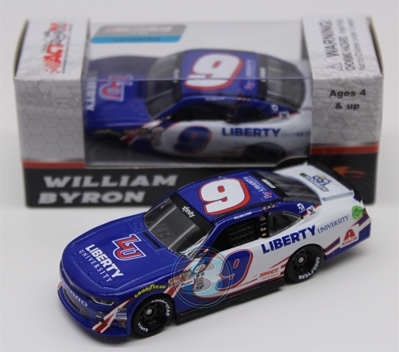 William Byron 2017 Liberty University/Darlington Throwback 1:64 Nascar Diecast William Byron diecast, 2017 nascar diecast, pre order diecast