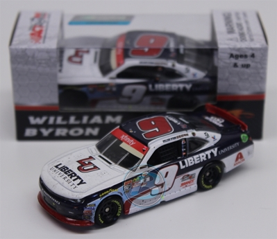 William Byron 2017 Liberty University Homestead Raced Version 1:64 Nascar Diecast William Byron diecast, 2017 nascar diecast, pre order diecast